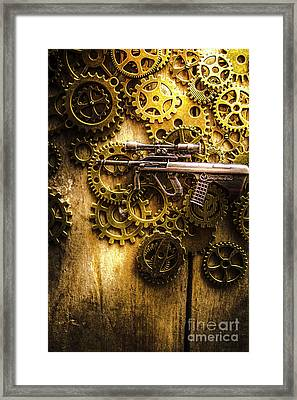 Miniature Steyr Aug A1 Framed Print