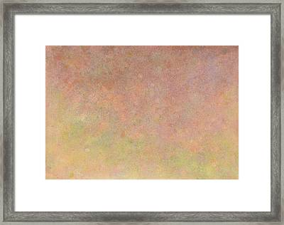 Framed Print featuring the painting Minimal 10 by James W Johnson