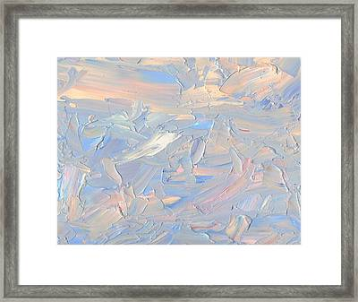 Framed Print featuring the painting Minimal 11 by James W Johnson
