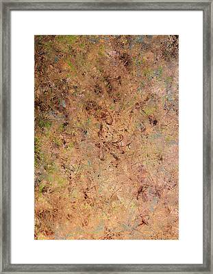 Framed Print featuring the painting Minimal 7 by James W Johnson