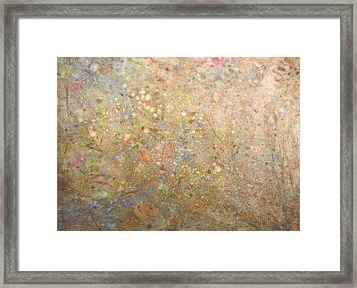 Framed Print featuring the painting Minimal 8 by James W Johnson
