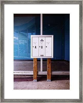 Minimal Contemporary Photograph Framed Print by Dylan Murphy