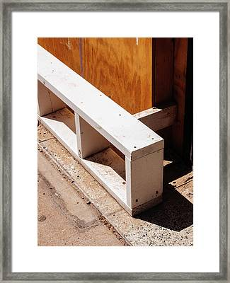 Minimal Contemporary Photography Framed Print by Dylan Murphy