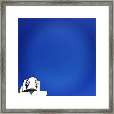 Minimal L.a. Framed Print by Courtney Haile