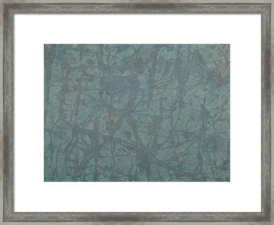 Minimal Number 3 Framed Print by James W Johnson