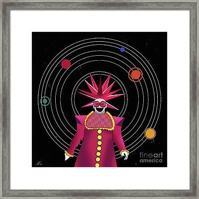 Minimal Space  Framed Print by Mark Ashkenazi