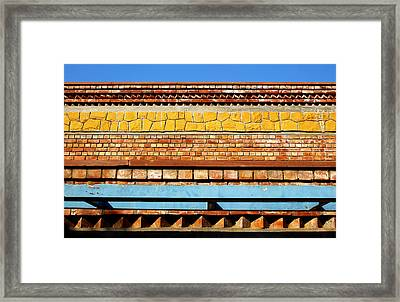 Minimal Sundae Framed Print by Prakash Ghai