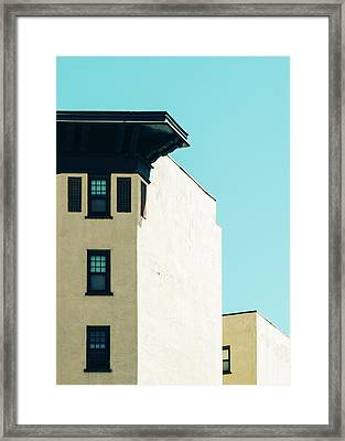 Minimalist Architecture Photo Framed Print by Dylan Murphy