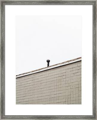 Minimalist Architecture Photography Framed Print by Dylan Murphy