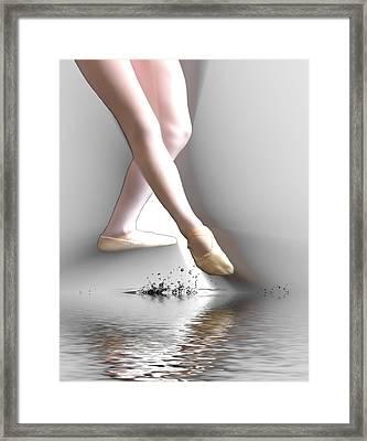 Minimalist Ballet Framed Print