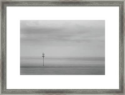 Minimalist Framed Print by Martin Newman