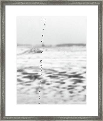 Minimalist Winter Landscape Framed Print by Jon Woodhams
