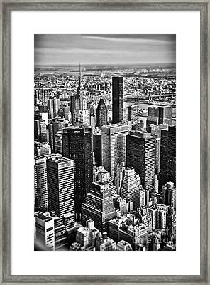 Mini_manhattan Framed Print by Alessandro Giorgi Art Photography