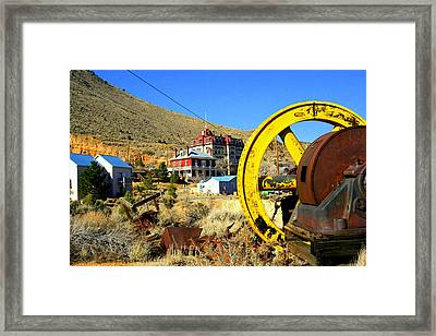 Mining Machinery Framed Print