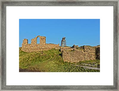 Mining Past And Present Framed Print