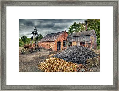 Mining Village Framed Print