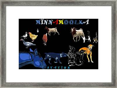 Minnamoolka Station Framed Print