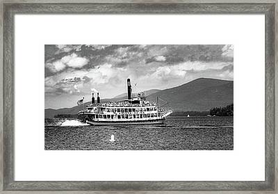 Framed Print featuring the photograph Minne Ha Ha Memories by Kendall McKernon