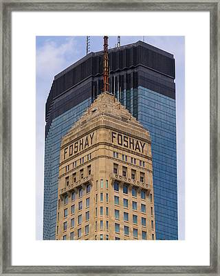 Minneapolis Icons Framed Print