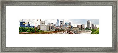 Minneapolis Milling District Framed Print