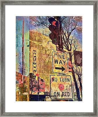 Minneapolis Uptown Energy Framed Print