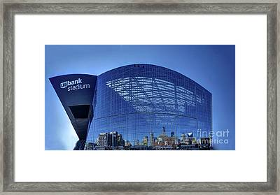 Minneapolis Us Bank Stadium Mn Vikings Framed Print