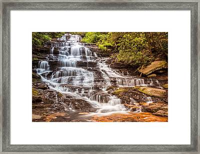 Framed Print featuring the photograph Minnehaha Falls by Michael Sussman