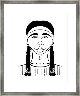 Minnehaha Framed Print