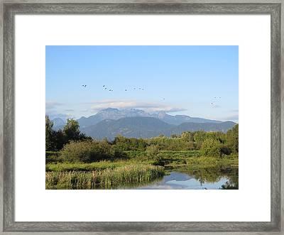 Minnekhada Park Framed Print