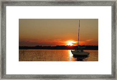 Minnesota Sunset II Framed Print