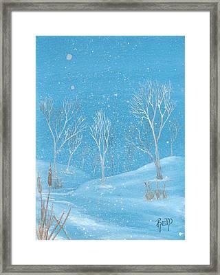 Minnesota Winter... No. Two Framed Print by Robert Meszaros
