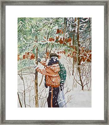 Minnesota Winter Framed Print