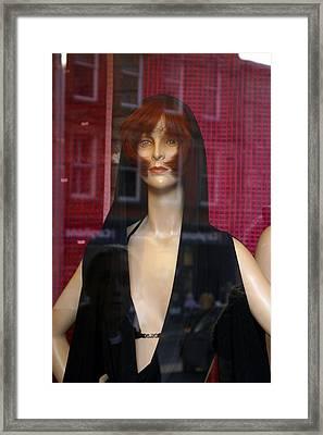 Minnie Framed Print by Jez C Self