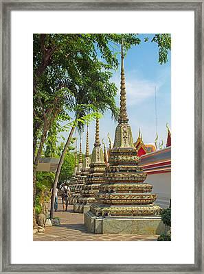Minor Chedi At Wat Pho Framed Print
