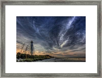 Minor Earth. Major Sky. Framed Print