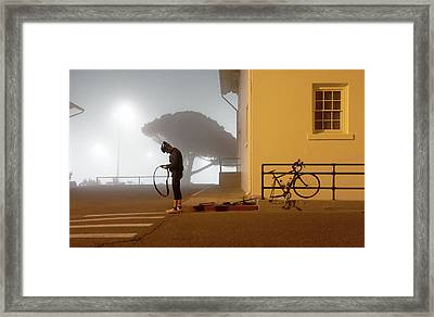 Minor Setback Framed Print by Daniel Furon
