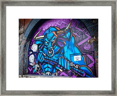 Minotaur Framed Print by Adam Pender