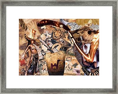 Minotauros Framed Print by Christoph Fuhrken