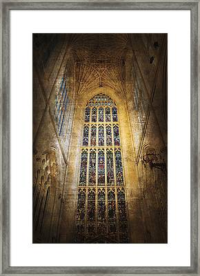 Minster Window Framed Print by Svetlana Sewell