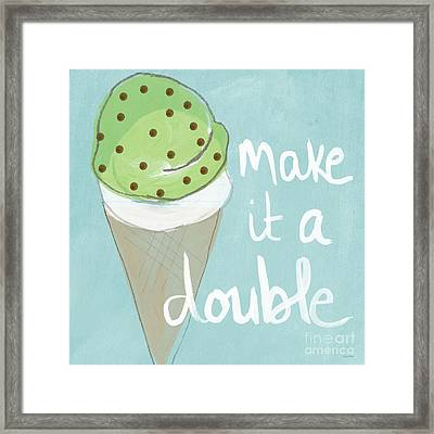 Mint Chip Framed Print