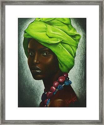 Mint Chocolate Framed Print by Charlene Cooper