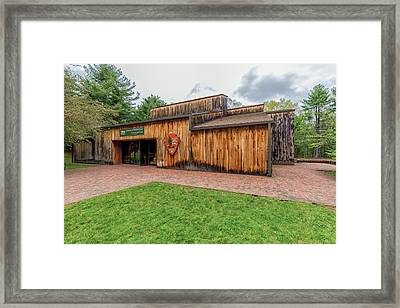 Minute Man National Historical Park Visitor Center Framed Print by Brian MacLean