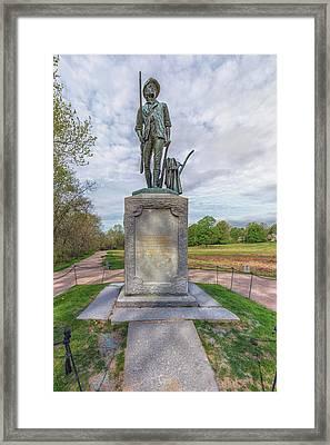 Minute Man Sculpture Concord, Massachusetts Framed Print