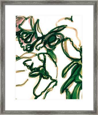 Mira Framed Print