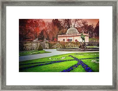 Mirabell Gardens Salzburg  Framed Print