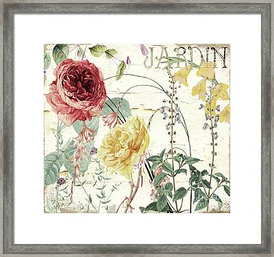 Mirabelle I Framed Print by Mindy Sommers