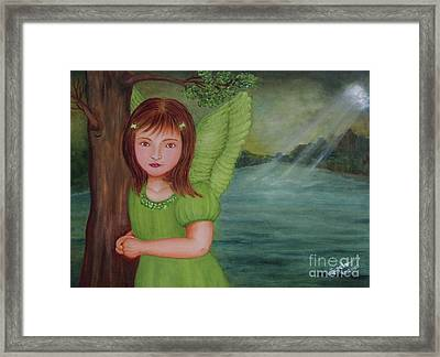 Miracle Framed Print by Desiree Micaela