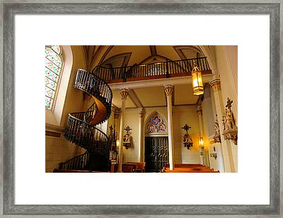 Miraculous Staircase Framed Print