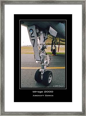 Mirage 2000 Framed Print by Mathias Rousseau