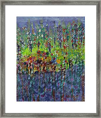 Mirage Painting Framed Print by Don  Wright